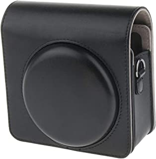 F Fityle PU Case Storage Bag with Removable Shoulder Strap for Fujifilm Instax Square SQ6 Polaroid Camera, Black