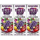 カゴメ 野菜生活100 ベリーサラダ 200ml×3本