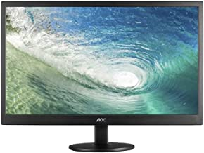 AOC e970swn 18.5-Inch LED-Lit Monitor, 1366 x768 Resolution, 5ms, 20M:1 DCR, VGA, VESA (Renewed)