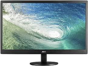 AOC e970swn 18.5-Inch LED-Lit Monitor, 1366 x768 Resolution, 5ms, 20M:1 DCR, VGA, VESA (Renewed)