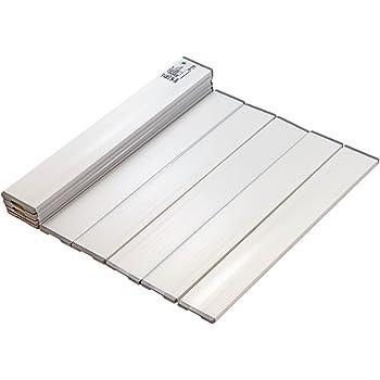 ミエ産業 折りたたみ風呂ふた Agスリム ホワイト M8 700×810mm