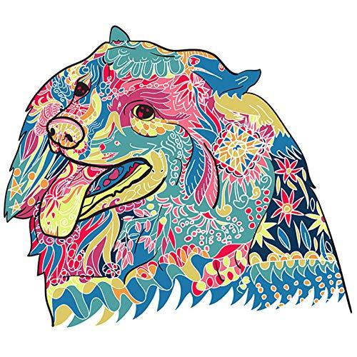 ZZC Puzzles De Madera Adultos Animales Animal Misterioso De Forma Única,Aliviar El Estrés,Juegos Que Mejoran La Capacidad De Pensamiento,A4