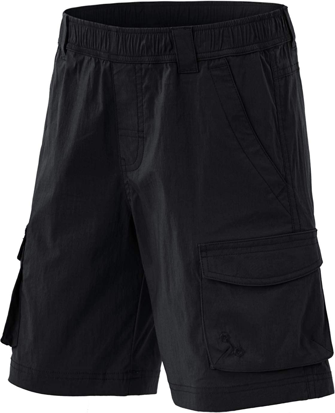 CQR Kids Youth Pull on Cargo Special sale Max 58% OFF item Shor Outdoor Shorts Hiking Camping