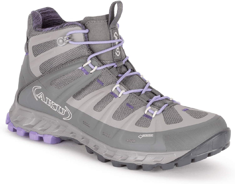 AKU Selvatica MID GTX WS - Wanderschuh - Trekkingschuh - Outdoorschuh - für Damen - Farbe  grau-lila