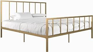 DHP Stella Metal Bed, Gold, King