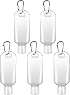 TOPBATHY 5pcs Travel Bottles with Clip Refillable Bottles Travel Container for Sopa Makeup Liquid Shampoo Liquids Lotion 5...