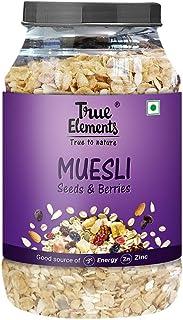 True Elements Seeds and Berries Muesli 1000 gm