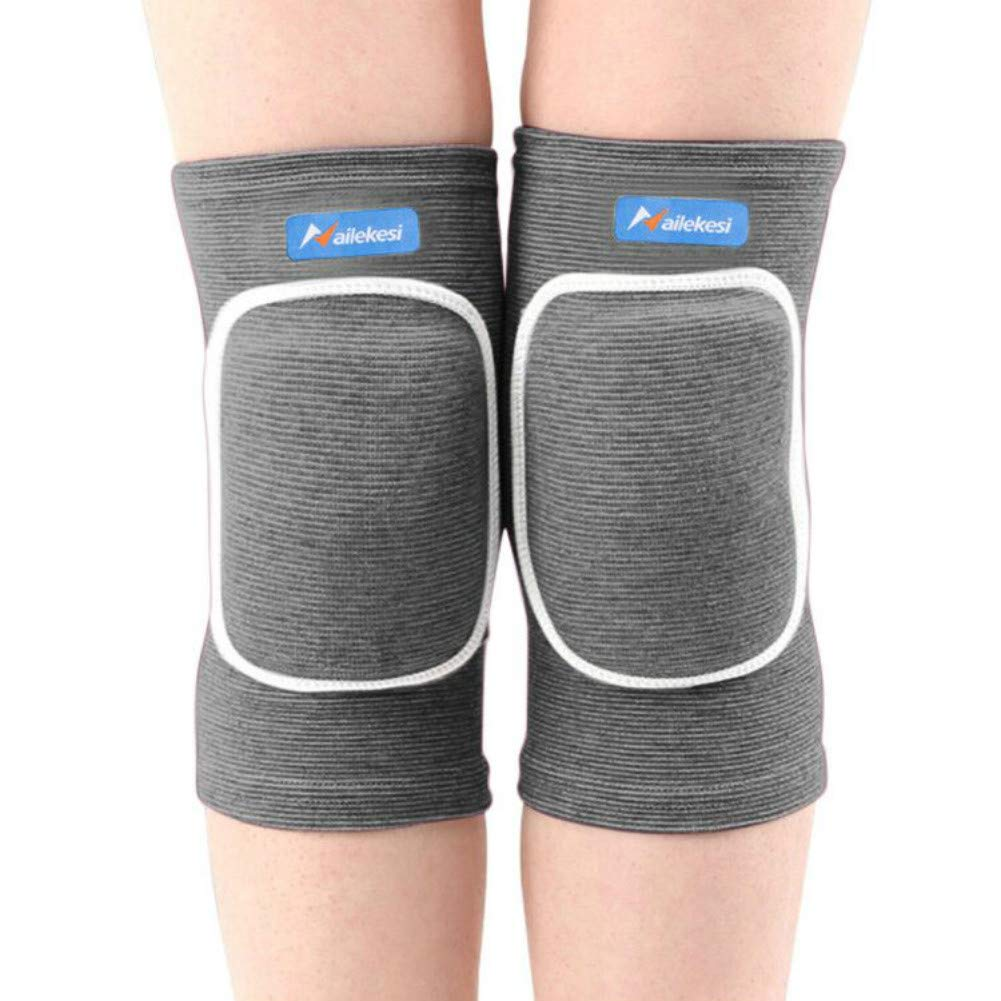 Knee Pads Volleyball Wrestling Thick Sponge Non-Slip Collision Avoidance Knee Sleeve for Sports Goalkeeper Dancing for Youth Girls Boys /&Adult