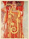 onthewall Gustav Klimt Hygieia PDP 008Poster Kunstdruck
