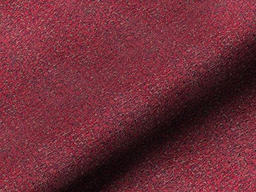 Dobladillo & Viebahn GmbH & Co. KG Ancona 62635140100 - Tela para muebles, color rojo