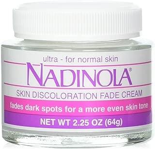 Nadinola Skin Discoloration Fade Cream for Normal Skin 2.25 Oz