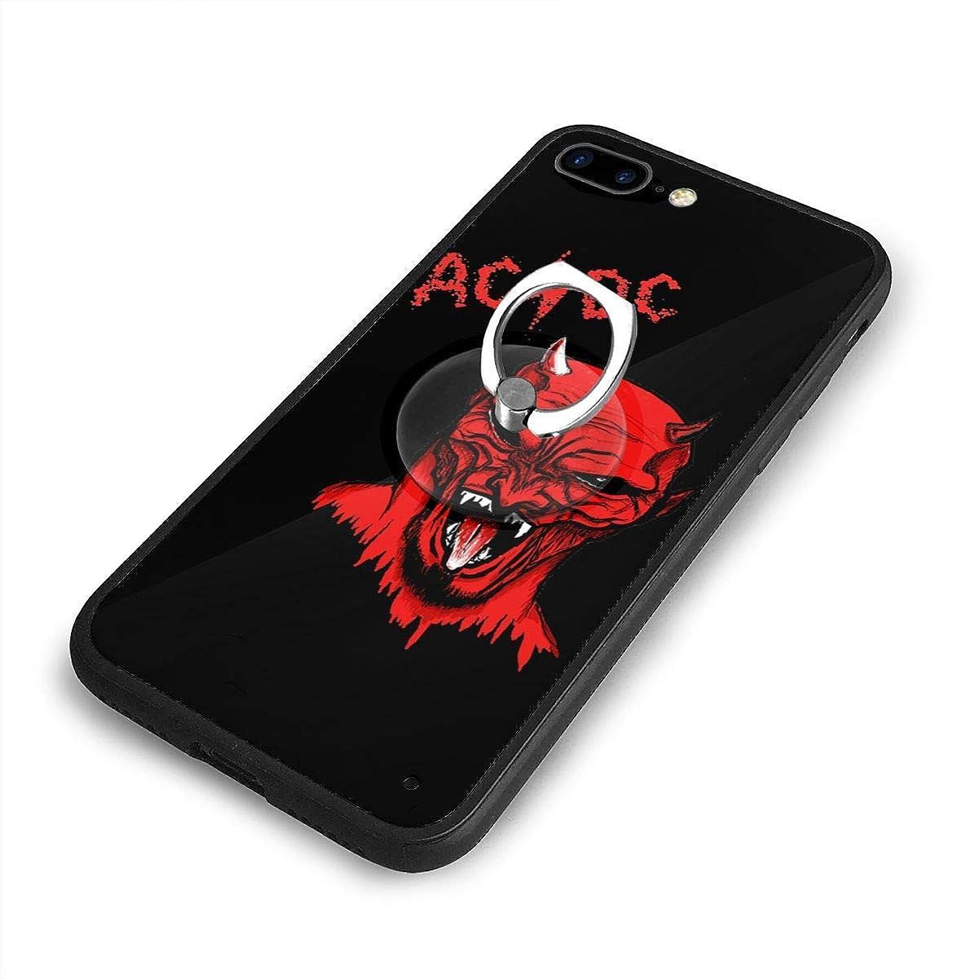カヌー受賞受信Dioul_s iPhone 7/8 Plusケースリングブラケット 携帯カバー 創意デザイン軽量 傷つけ防止 360°回転ブラケット 携帯ケース PC 衝撃防止 全面保護