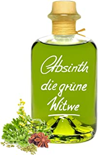 Absinth Die Grüne Witwe 0,5L Testurteil SEHR GUT1,4 Maximal erlaubter Thujongehalt 35mg/L 55% Vol