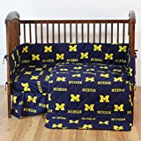 College Covers NCAA Crib Set, 28' x 52' + 6', Michigan Wolverines