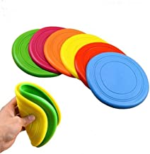 Lodsy Toys for Dogs Flying Discs Silicone Outdoor Puppy Training Flying Discs Dog Fetch Toy for Dog Training Discs