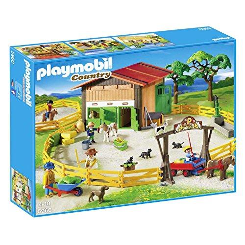 PLAYMOBIL 5960 Ponyhof-Komplett-Set