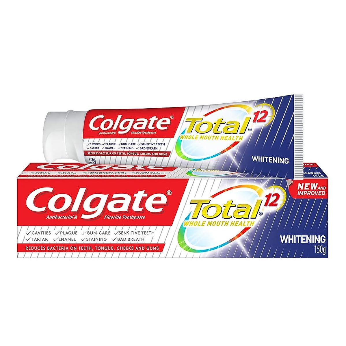 東与える円形の(コルゲート)Colgate 歯磨き粉 Total (150g, ホールマウスヘルス)