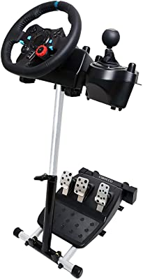 Cirocco Racing Simulator Steering Wheel Stand Gear Pedals Wheel Cockpit for Gamer Home | Slim Shaped
