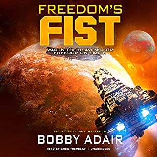Freedom's Fist audiobook cover art