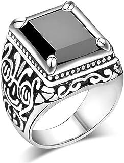 MDTBB خاتم إصبع الإبهام للرجال خاتم المفاصل للرجال خواتم أنيقة ، 18.1 مم