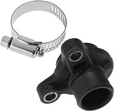 Water Hose Fitting 11537541992/11537544638 for BMW N54 N53 N52 w/Clamp