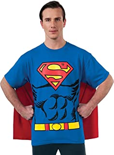 Rubie's DC Comics Superman Costume T-Shirt with Cape