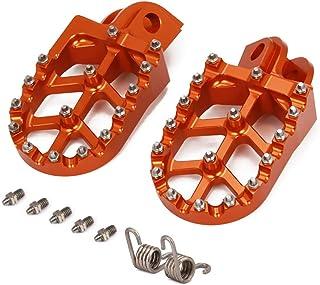 JFG RACING moto Offroad CNC Pie Clavijas Pedales Reposapiés para KTM 65-1290 SX SXF EXC EXCF XC XCF XCW SMC SUPER MOTO ENDURO ADVENTURE FREERIDE 98-18