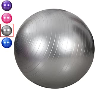 FAITOVE King Size 95 cm Exercise Ball Thick Explosion-Proof Yoga Ball for Fitness, Swiss Ball Slimming Yoga with Pump