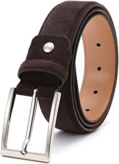 Best mens brown woven leather belt Reviews