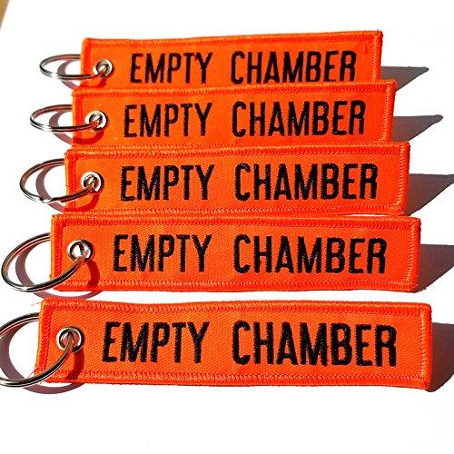 EMPTY CHAMBER - Key Chains - 5pcs Rotary13B1 (Neon Orange)