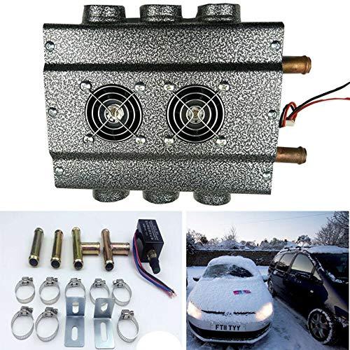 FidgetGear 12 V 6-Loch-Heizung für LKW, Auto-Heizung, Entfroster mit Schalter