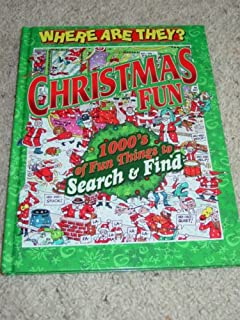 WHERE ARE THEY? CHRISTMAS FUN SEARCH & FIND