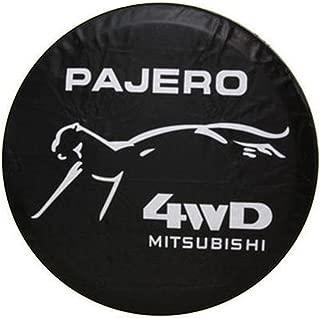 4WD SUV Spare Wheel Cover Compatible For Mitsubishi Pajero Spare Tire Cover 15 Inches 27