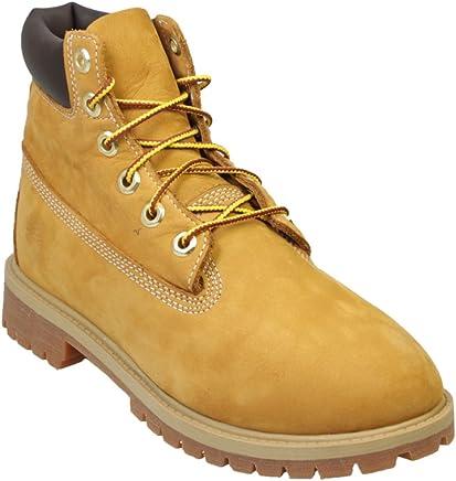 Timberland 6 Premium Wheat Nubuck Juniors Boots Size 5 : boots