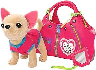 Chi Chi Love - Peluche con Bolso, Color Rosa / Verde (Simba 5890617)