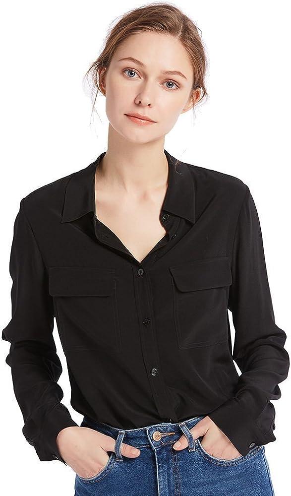 LilySilk Silk Shirts for Women Sleeve 18 100% Ladies Long Ranking TOP16 Selling rankings