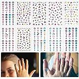 Madholly 10 Sheets Self Adhesive Unicorn Nail Art...