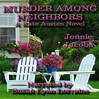 Murder Among Neighbors audiobook cover art