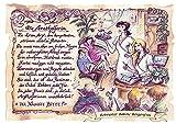 Die Staffelei Geschenk Karte A4 Berufsbild Arzthelferin Krankenschwester Zeichnung mit Gedicht, personalisiert