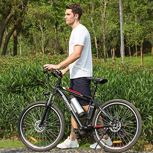 ANCHEER Electric Bike, E-bike Citybike Adult Bike with 250 W Motor 36V 8AH/12.5 AH Removable Lithium Battery Shimano 21 Speed Shifter for Commuter Travel