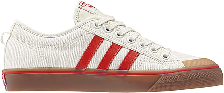 Adidas Originals Turnschuhe Nizza CQ2326 Beige Rot