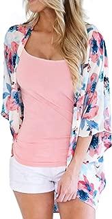 pink and blue kimono