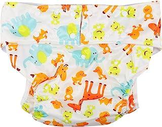 SH-RuiDu Volwassen doek luier, herbruikbare waterdichte lekvrije vochtabsorberende grote luier broek voor ouderen, urine-i...
