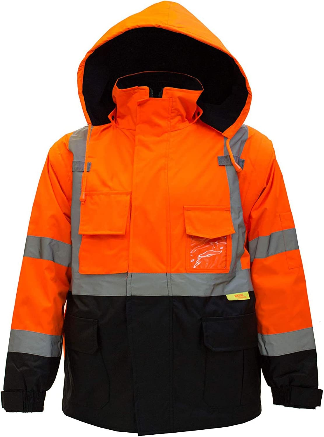 TroySafety New York Hi-Viz Workwear High Class SEAL limited product 3 Visibilit Men's Max 72% OFF