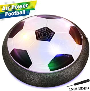 EpochAir Hover Soccer Ball for Boys Toys, Hover Football Disk Toy with LED Light and Foam Bumpers Indoor Outdoor , for 5 6 7 8 11 Year Old Boy Girl