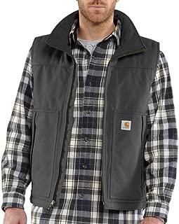 Carhartt Men's Quick Duck Woodward Rain Defender Vest,Charcoal 2X-Large