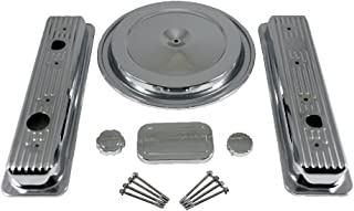 Assault Racing Products A3125 Small Block Chevy Chrome Dress Up Kit SBC 5.0L 5.7L V8 88-92