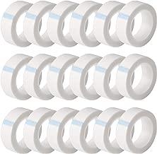 UPINS 24 Rolls White Eyelash Tape, Adhesive Fabric Eyelash Tapes for Eyelash Extension