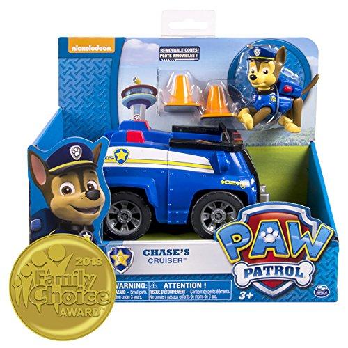 PAW Patrol Chase Polizeifahrzeug und Figur (Basic Vehicle)