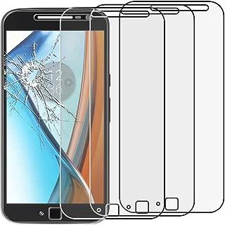 ebestStar - Pack x3 Verre trempé Motorola Moto G4 G4 Plus Film Protection Ecran Vitre Protecteur Anti Casse, Anti-Rayure, Pose sans Bulles [Appareil: 152.9 x 76.5 x 7.8mm, 5.5'']